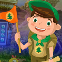 Play Games4King Flag Boy Rescue