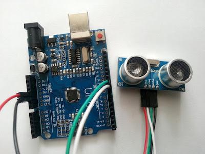 Aprecierea distanței cu senzorul ultrasonic HC-SR04