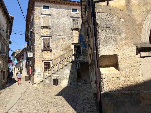 groznjan istria croatia town