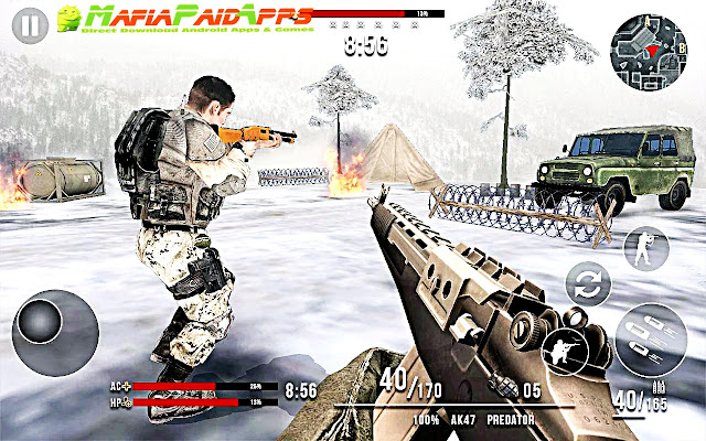 Deadly Assault 2018: Winter Mountain Battleground Apk MafiaPaidApps