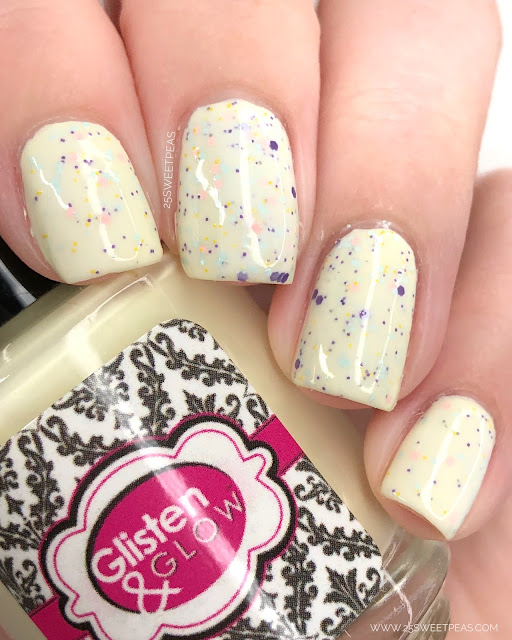 Glisten & Glow Ducklings & Daisies 25 Sweetpeas