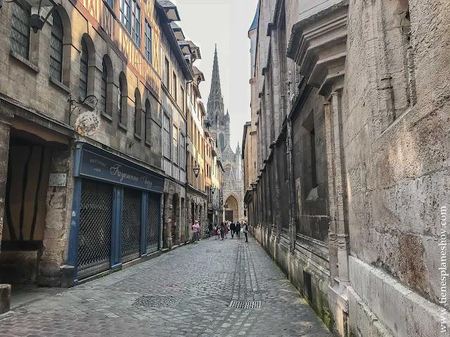Ruan Rouen ciudad bonita Normandia diario viaje turismo Francia