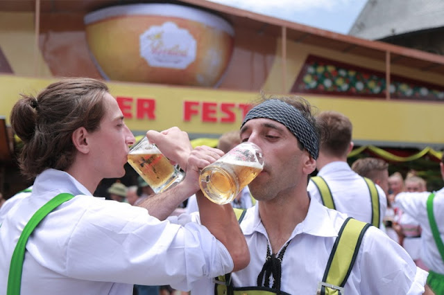 Beer Festival is held on Ba Na Mountain