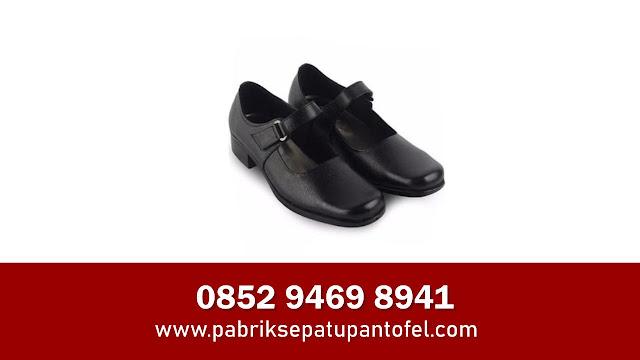 Jual Sepatu Kulit Pantofel Wanita
