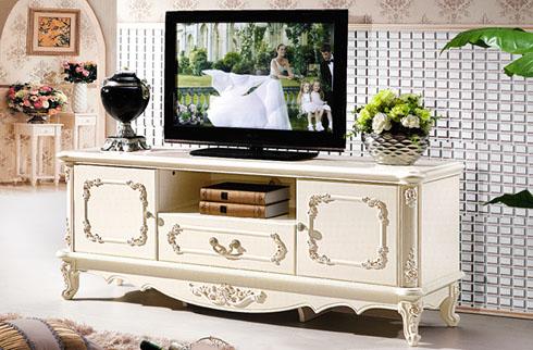 Một số mẫu kệ tivi tân cổ điển châu Âu cho phòng khách sang trọng