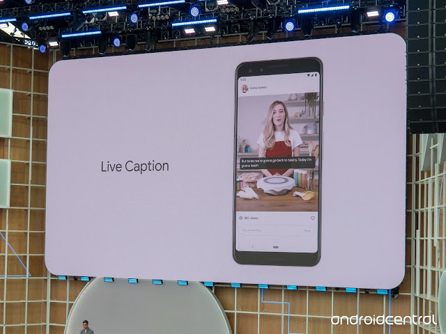 live captions android Q