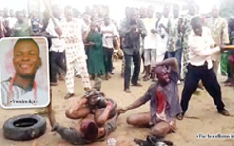 Video of the killing of Delsu student, Ify Gabriel Nwainokpor & friend