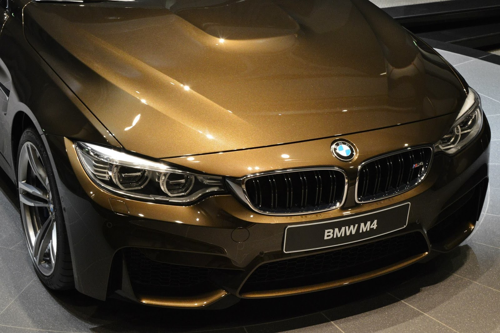 Car Exterior: BMW M4 Individual In Pyrite Brown: Sweet As Chocolate Or