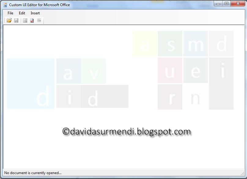 Personalizar la Cinta de Opciones o Ribbon de Excel con XML