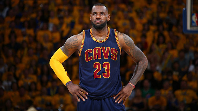 ALL HAIL KING JAMES, WINS FOR CAVALIERS.