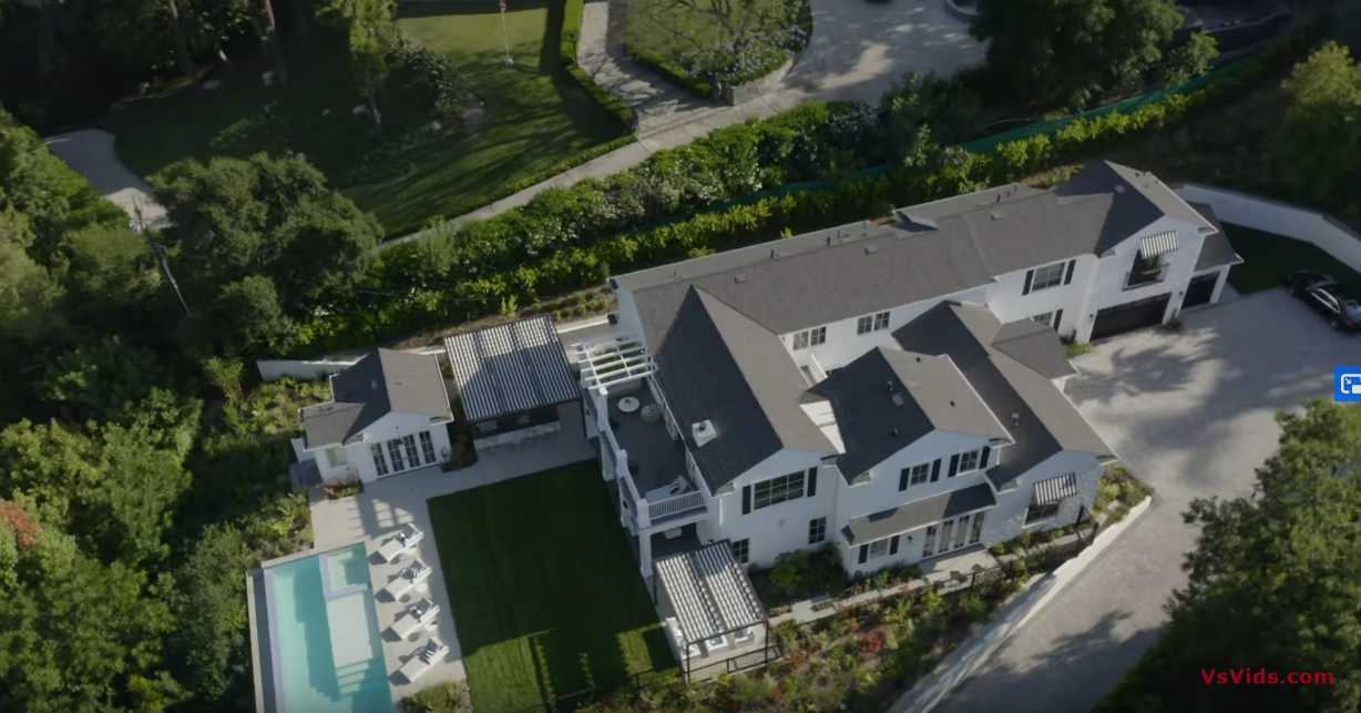 31 Photos vs. Touring a $7,495,000 ENCINO Mansion with 300 Ft Private Driveway! - Luxury Home Tour