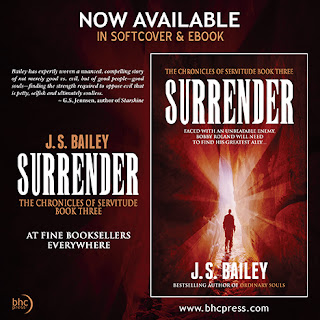 surrender the chronicles of servitude book 3 j s bailey supernatural suspense