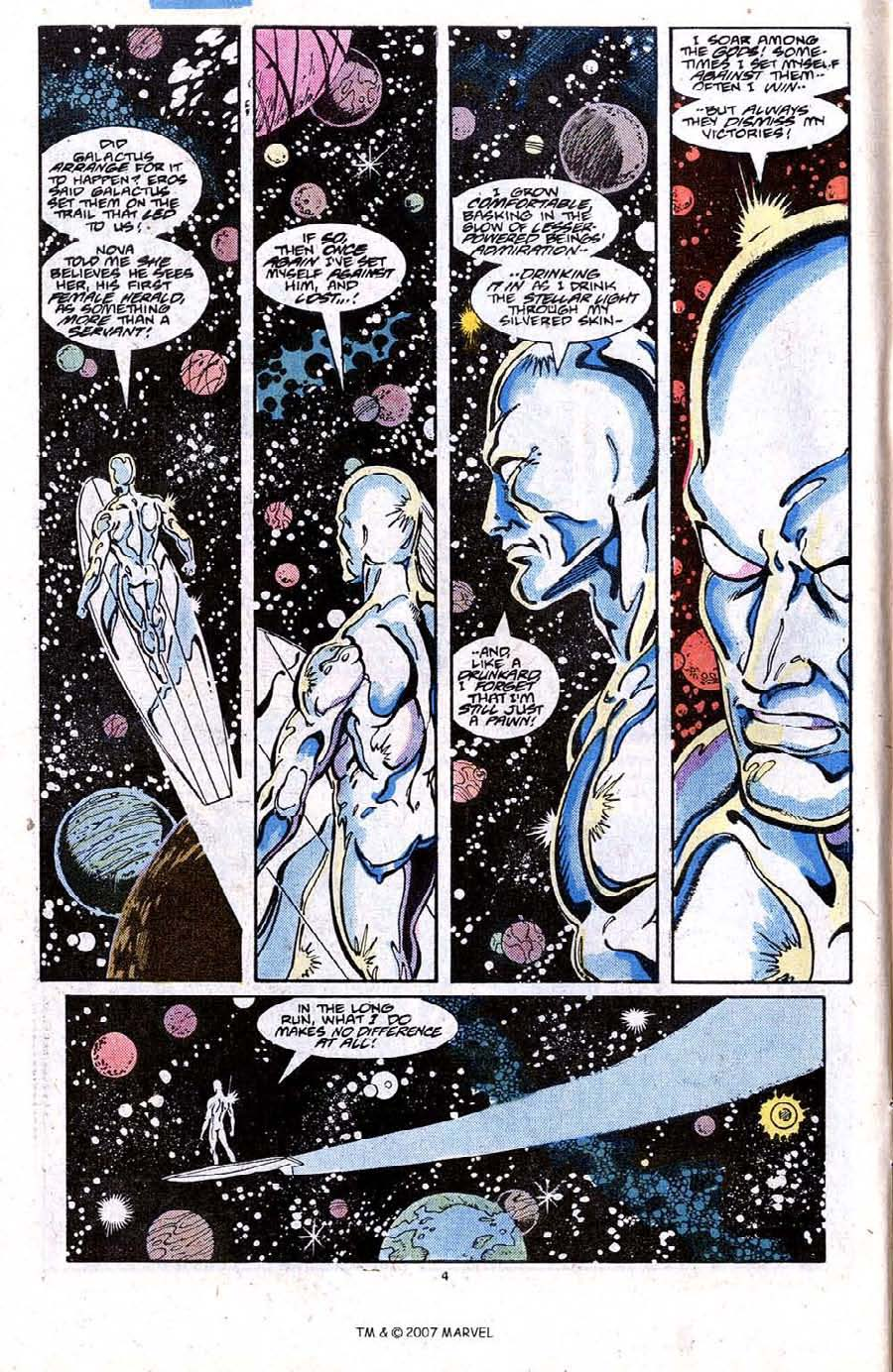 Read online Silver Surfer (1987) comic -  Issue #20 - 6