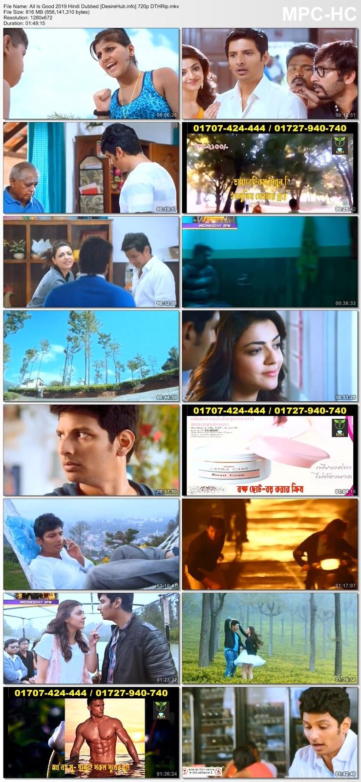 All Is Good (Kavalai Vendam) 2019 Hindi Dubbed 480p DTHRip 300MB Desirehub