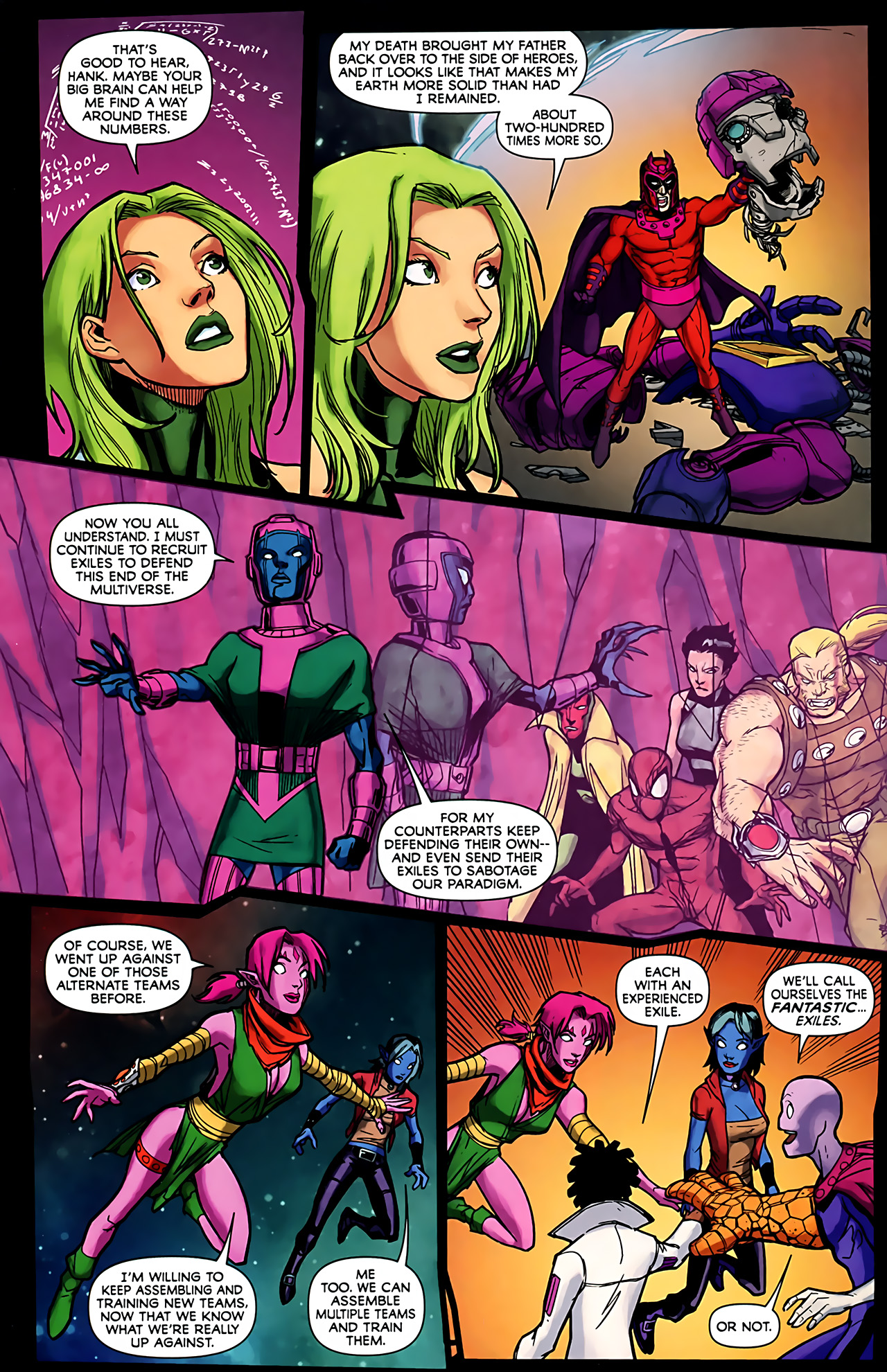 Read online Exiles (2009) comic -  Issue #6 - 36
