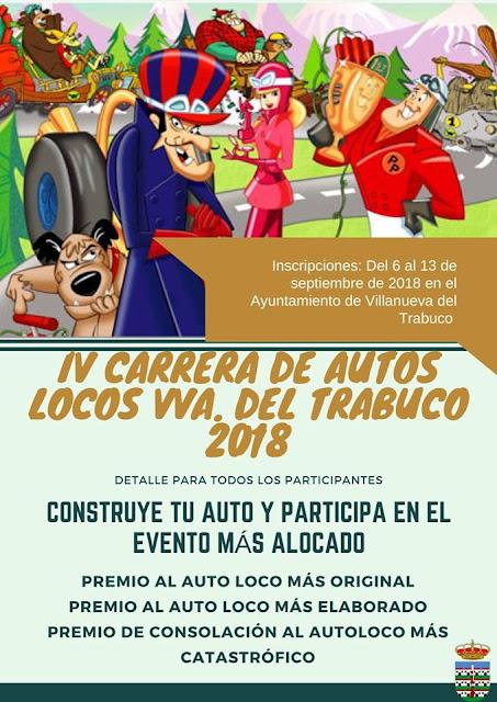 VI Carrera Autos Locos de Villanueva del Trabuco