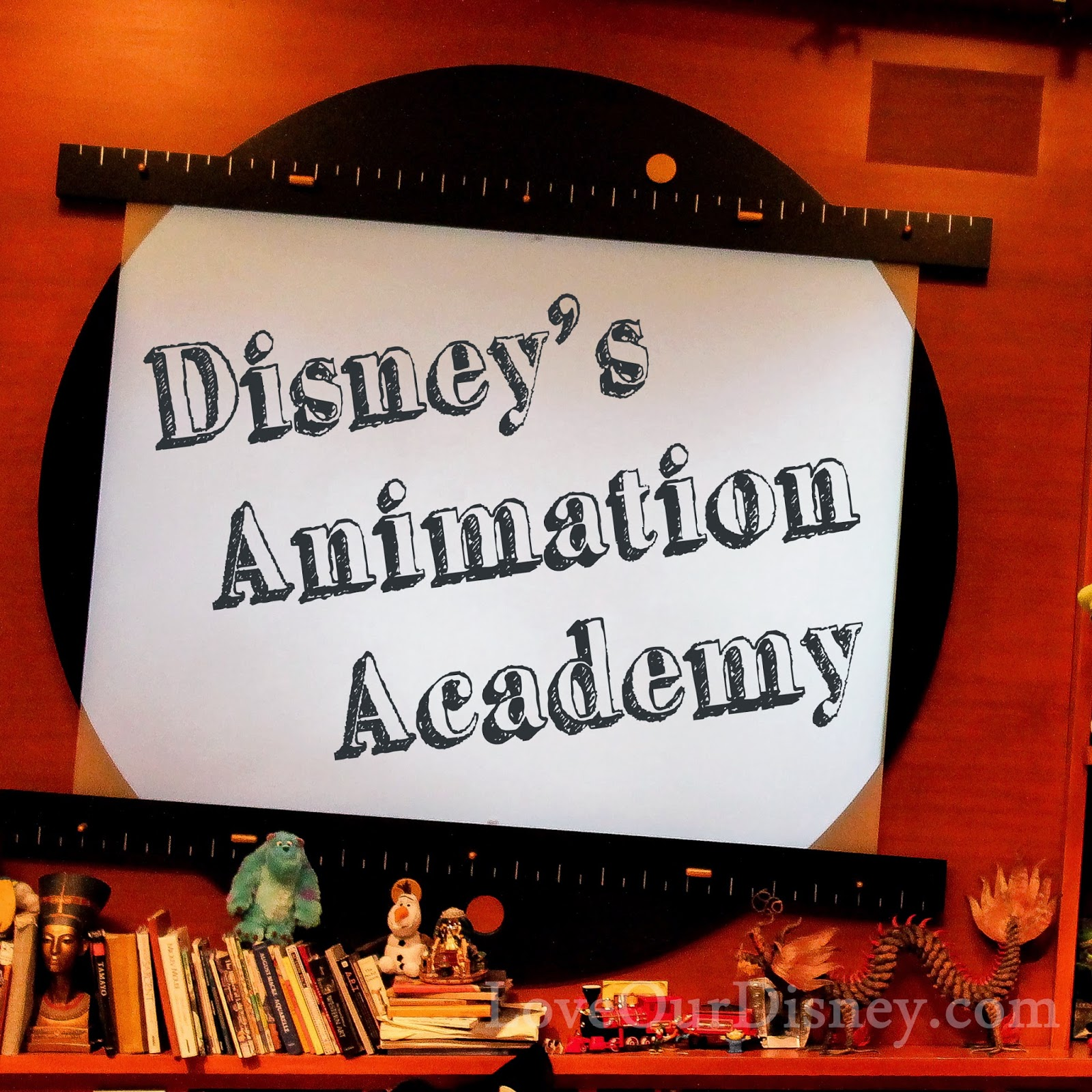 Disney California's Animation Academy Where, What, How