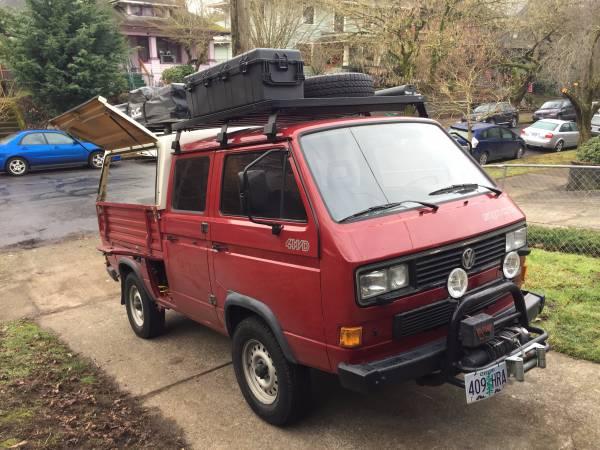 1991 VW Syncro Doka Adventure Ready | VW Bus