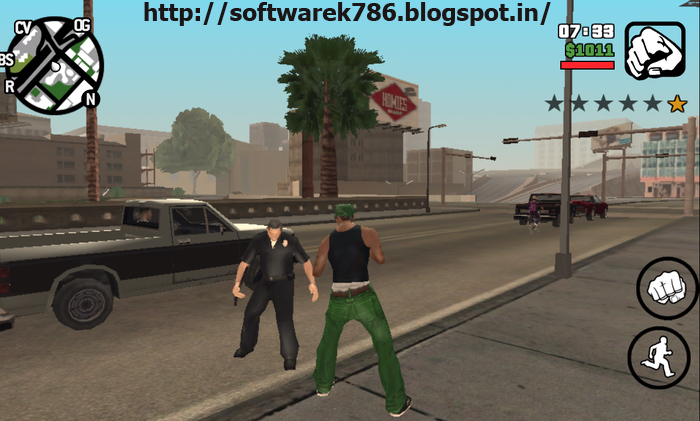 GTA San Andreas Game Highly Compressed (679Mbs