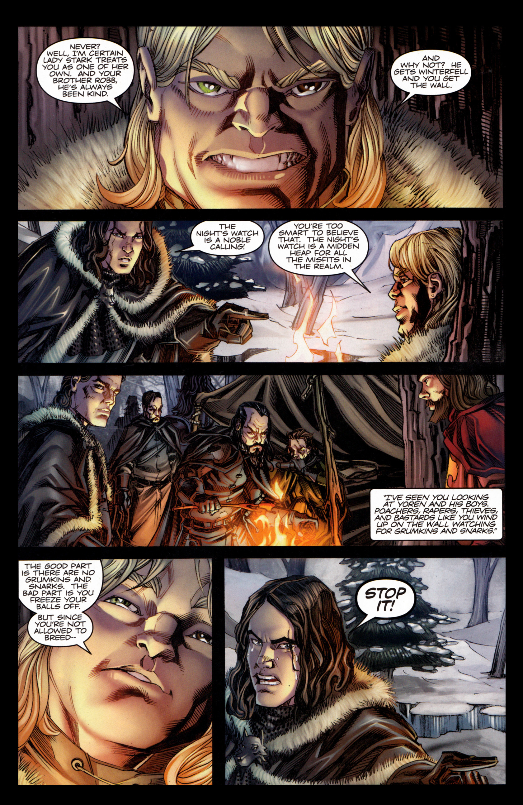 Read online A Game Of Thrones comic -  Issue #4 - 17