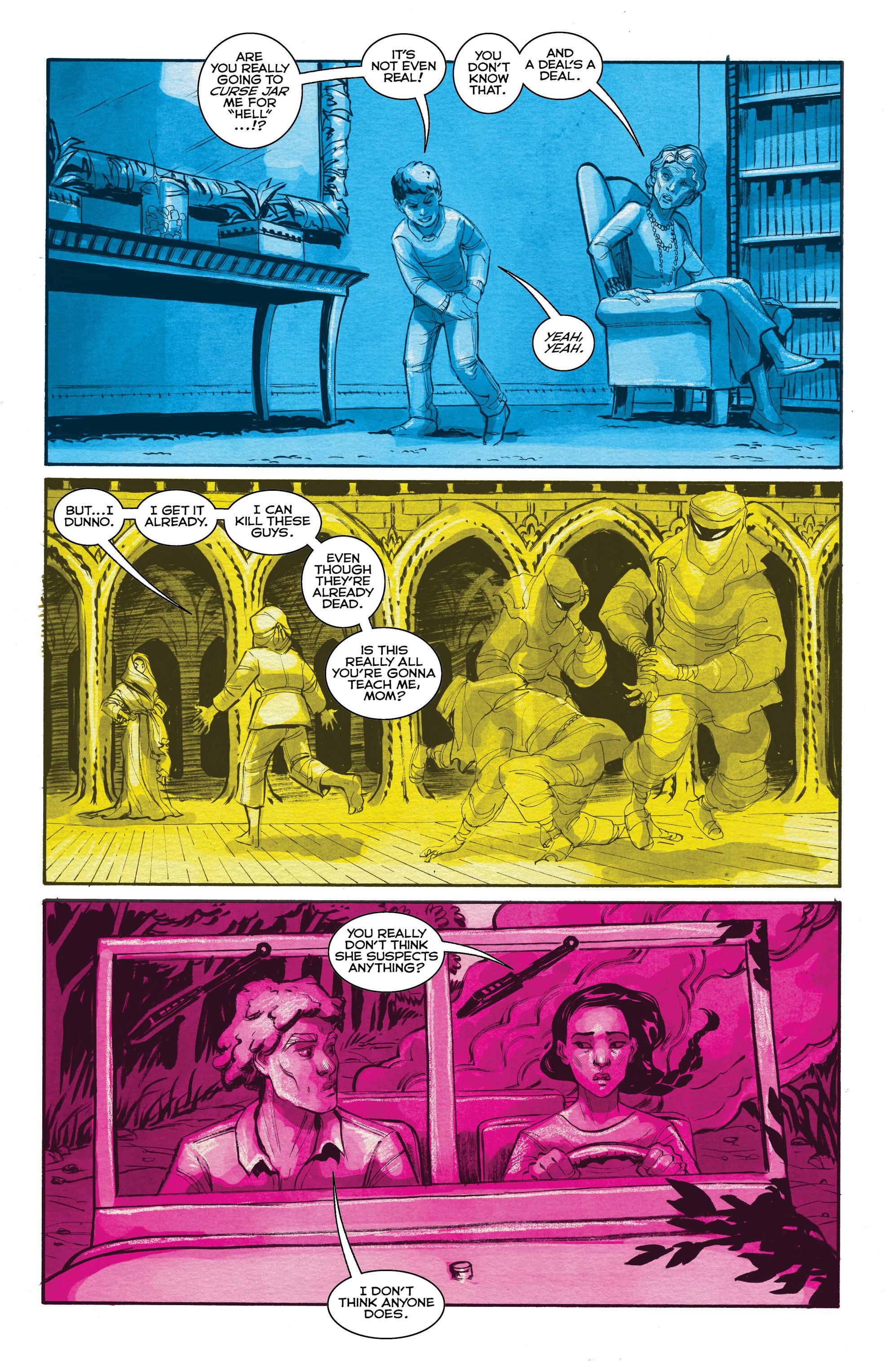 Read online Shutter comic -  Issue #19 - 13