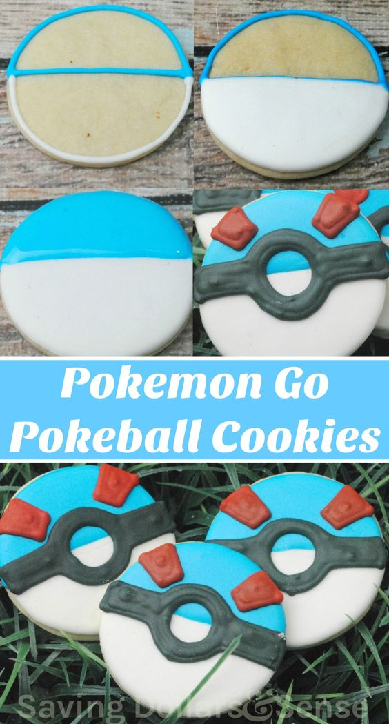 Pokemon Go (Rare) Pokeball Cookies Recipes