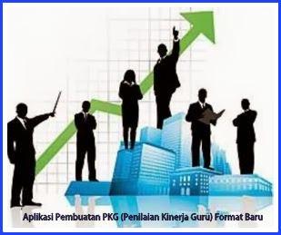 Aplikasi Pembuatan PKG (Penilaian Kinerja Guru) Format Baru