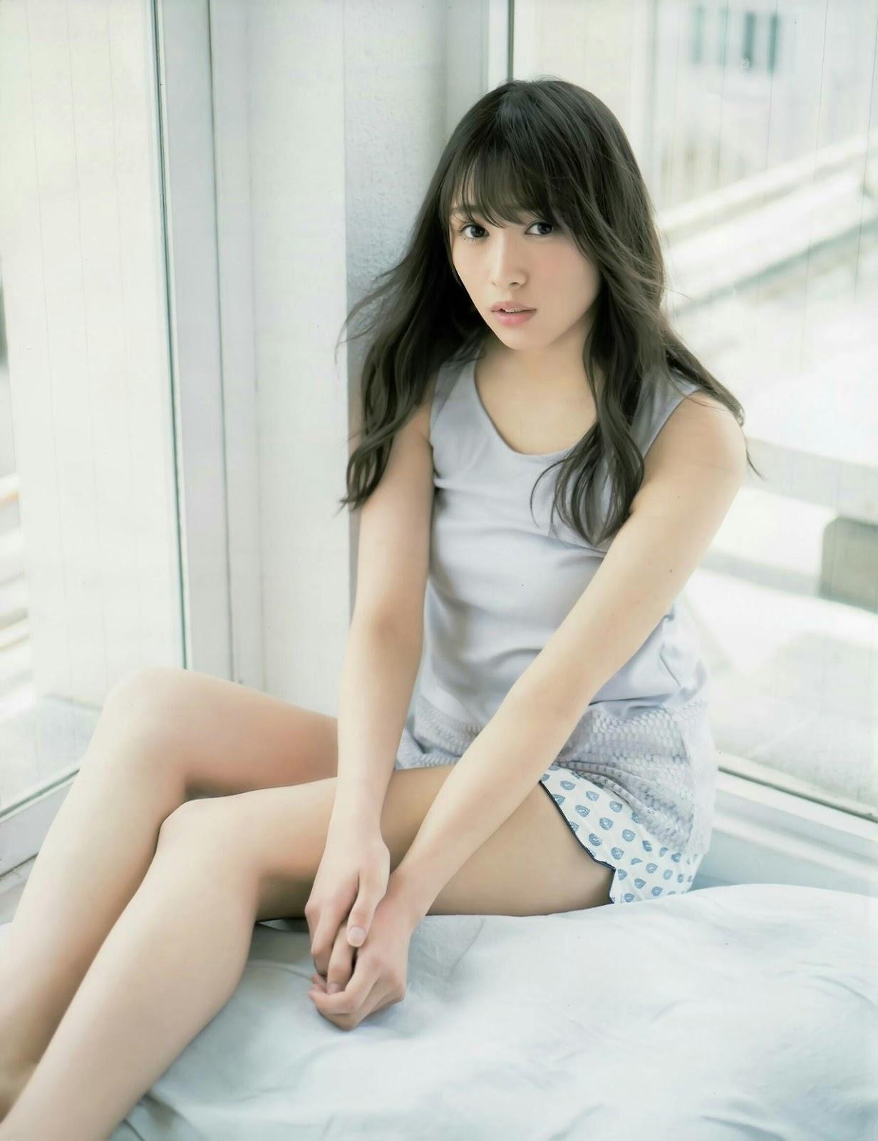 Watanabe Rika 渡辺梨加, Sugai Yuuka 菅井友香, Ex-Taishu 2017.08 (EX大衆 2017年08月号)
