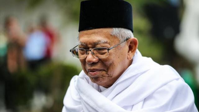 Kritik Balik Ma'ruf Amin Kepada Prabowo Soal Utang Negara