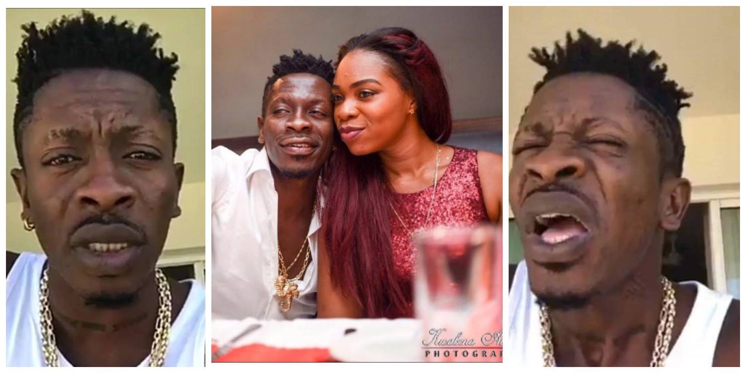 See How Shatta Michy Reacts To Rumours That Shatta Wale is Bleaching