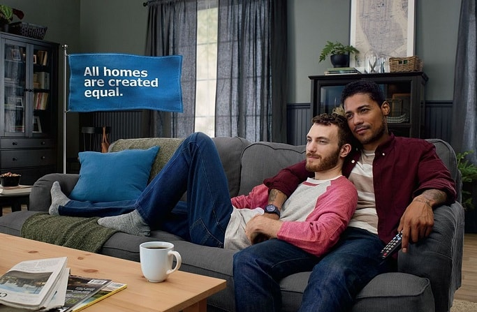 6 companies with funniest gay commercials dnb stories for Ikea commercial 2017