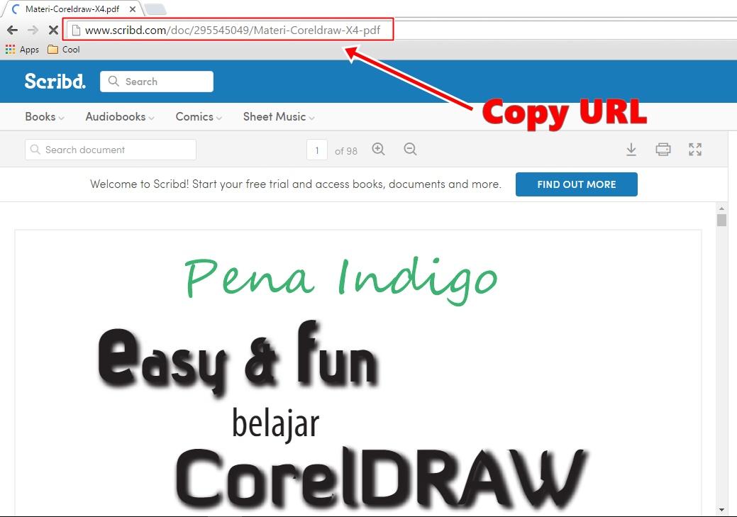 Cara File Pdf Di Scribd
