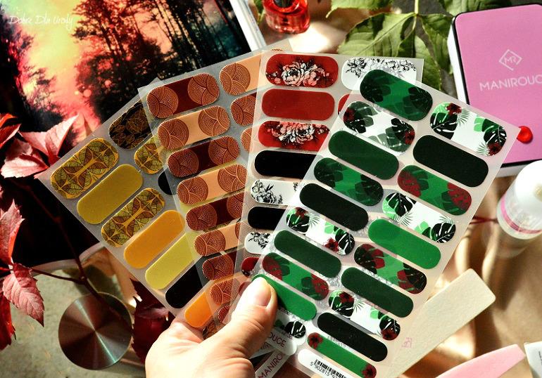 Nowa, jesienna kolekcja naklejek termicznych na paznokcie Manirouge ♥