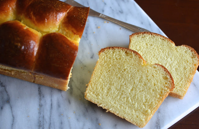 Playing with Flour: Brioche loaf