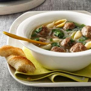 RecipeReview Italian Wedding Soup