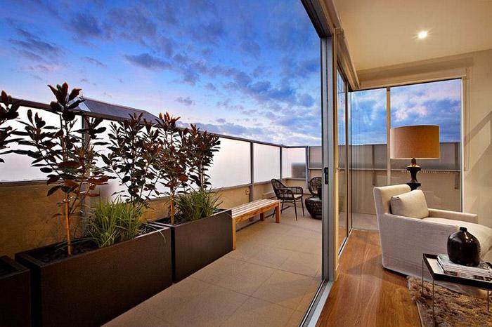 Casas minimalistas y modernas balcones minimalistas for Casa tipo minimalista