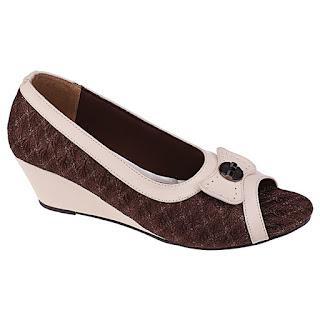 Sepatu Kerja Wanita Model Wedges SM 298