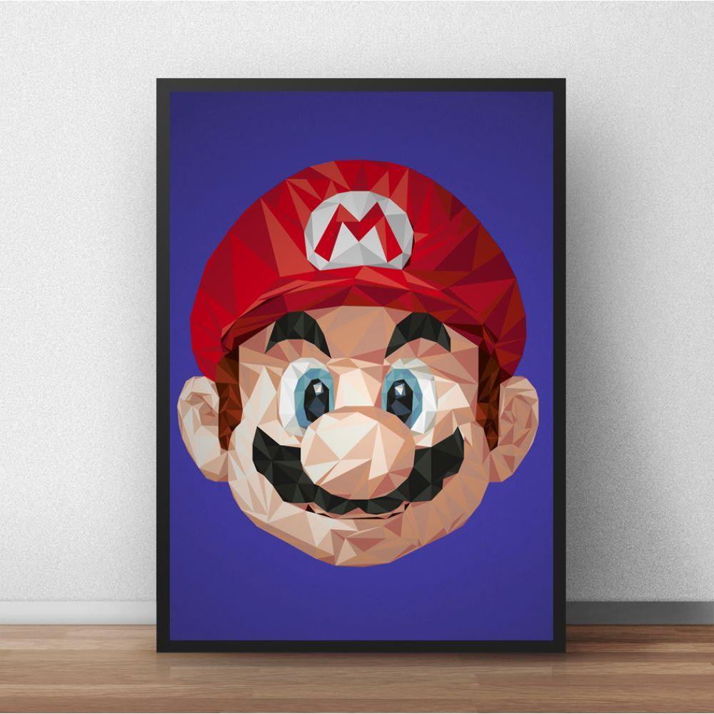 Super Mário Decoração vídeo game