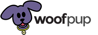 woof pup logo