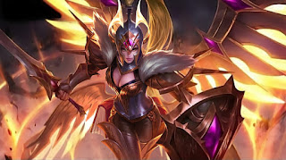 Download Script Skin Freya - War Angel (Mobile Legend)