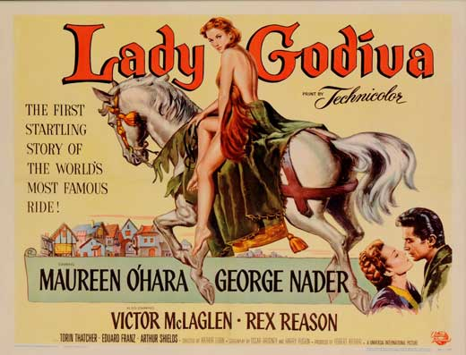 Lady Godiva of Coventry 1955 movie poster