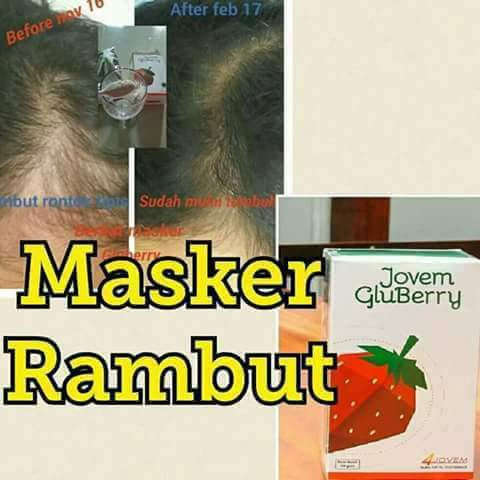 Rambut sehat dgn Gluberry