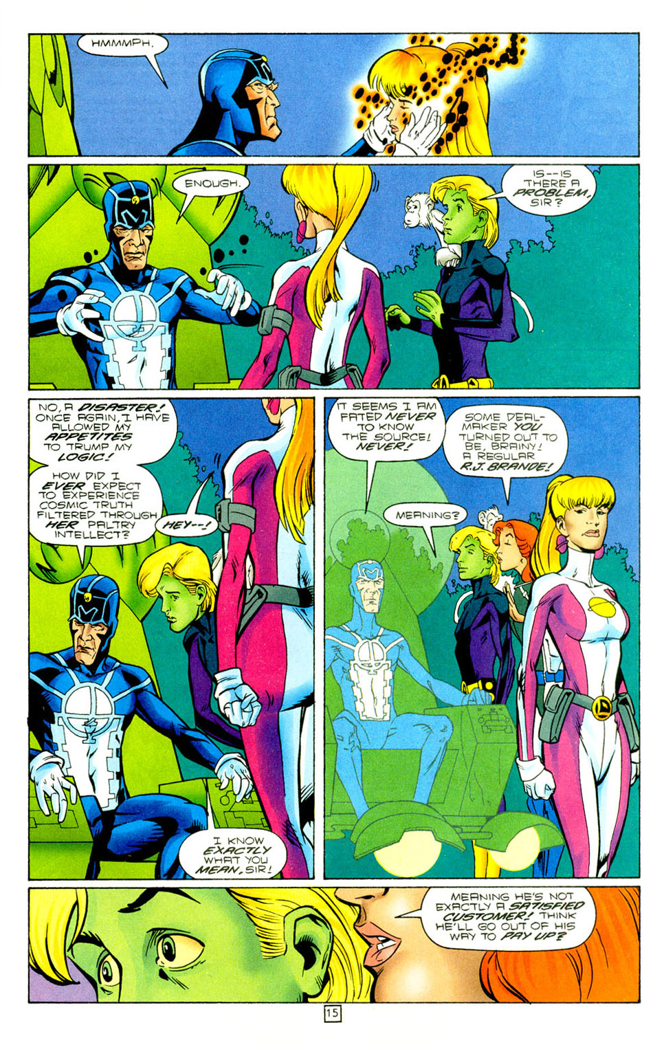 Legion of Super-Heroes (1989) 97 Page 14