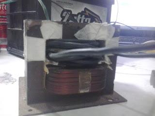 fonte feita com transformador de microondas