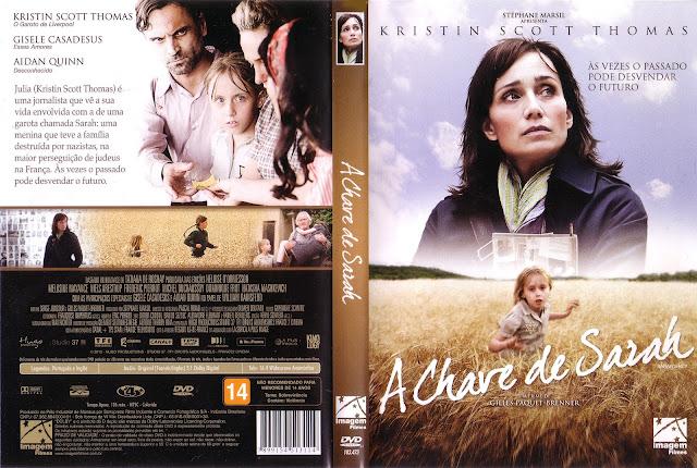Capa DVD A Chave de Sarah