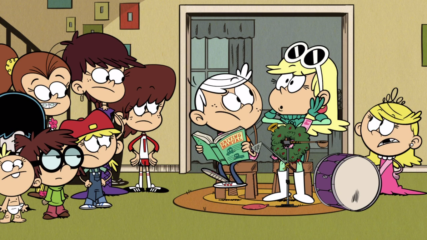 Loud house driving miss hazy script | Laney In The Loud House