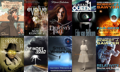 Aurora Award, Speculative Fiction Bundle, StoryBundle, Giveaway, Bea's Book Nook
