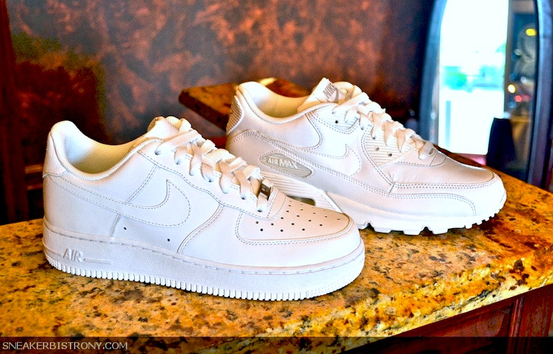 promo code 14690 af3cd SNEAKER BISTRO - Streetwear Served w Class KICKS  Nike Air Force 1 + Nike  Air Max 90
