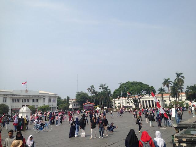 Taman Fatahillah Kota Tua