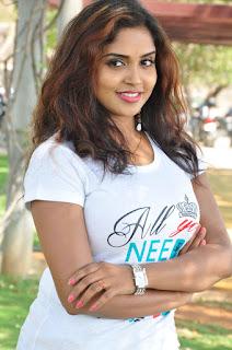 Actress Karunya Chowdary Stills in Jeans at Veda Enterprises Movie Launch  0001.jpg